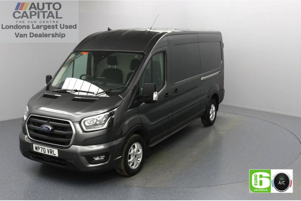USED 2020 70 FORD TRANSIT 2.0 350 FWD Limited EcoBlue Auto 185 BHP L3 H2 Low Emission Automatic Gearbox   Eco Mode   Auto Start-Stop   Front and rear parking distance sensors   Alloy wheels