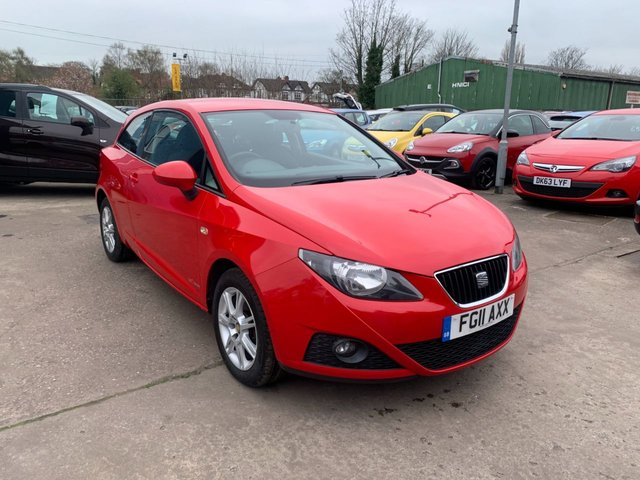 USED 2011 11 SEAT IBIZA 1.2 CR TDI S COPA 3d 74 BHP FREE 12 MONTH AA RECOVERY INCL