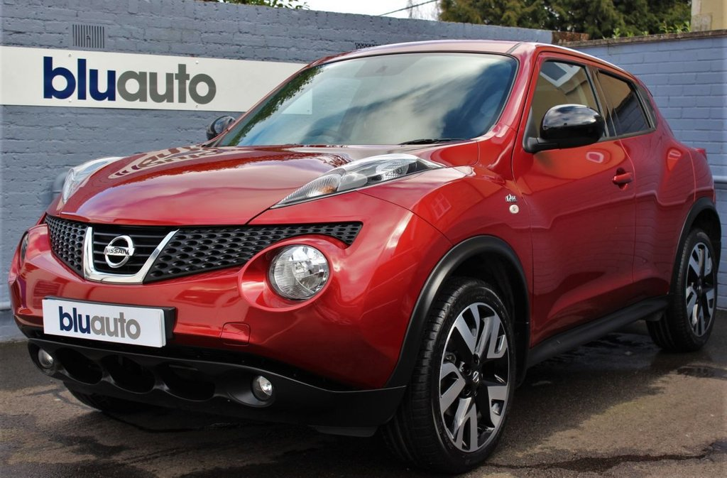 USED 2013 63 NISSAN JUKE 1.6 N-TEC 5d 115 BHP Full Service History, Reversing Camera, Satellite Navigation, Bluetooth Connectivity, Climate & Cruise Control
