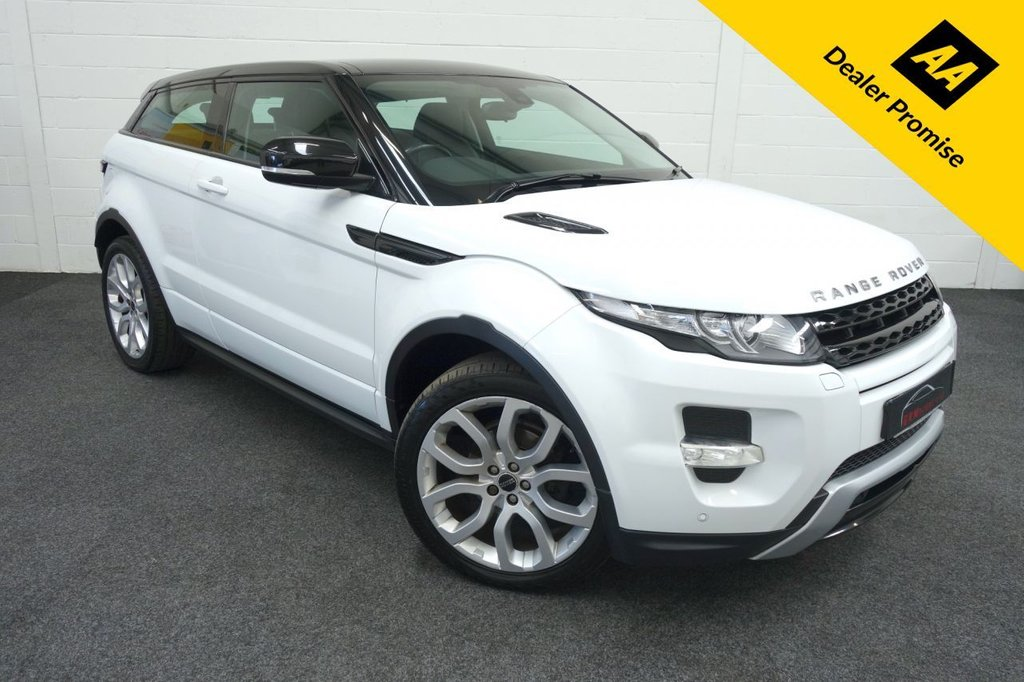 USED 2012 12 LAND ROVER RANGE ROVER EVOQUE 2.2 SD4 DYNAMIC 3d 190 BHP