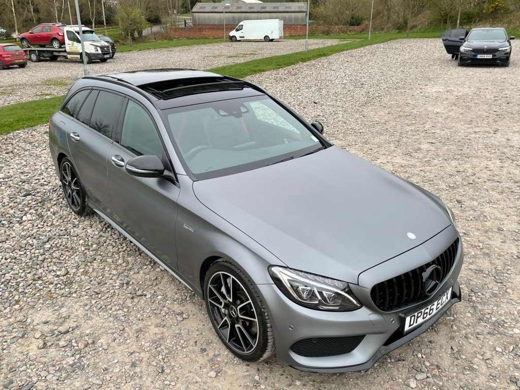 USED 2016 66 MERCEDES-BENZ C-CLASS 3.0 AMG C 43 4MATIC PREMIUM PLUS 5d 362 BHP Free Next Day Nationwide Delivery