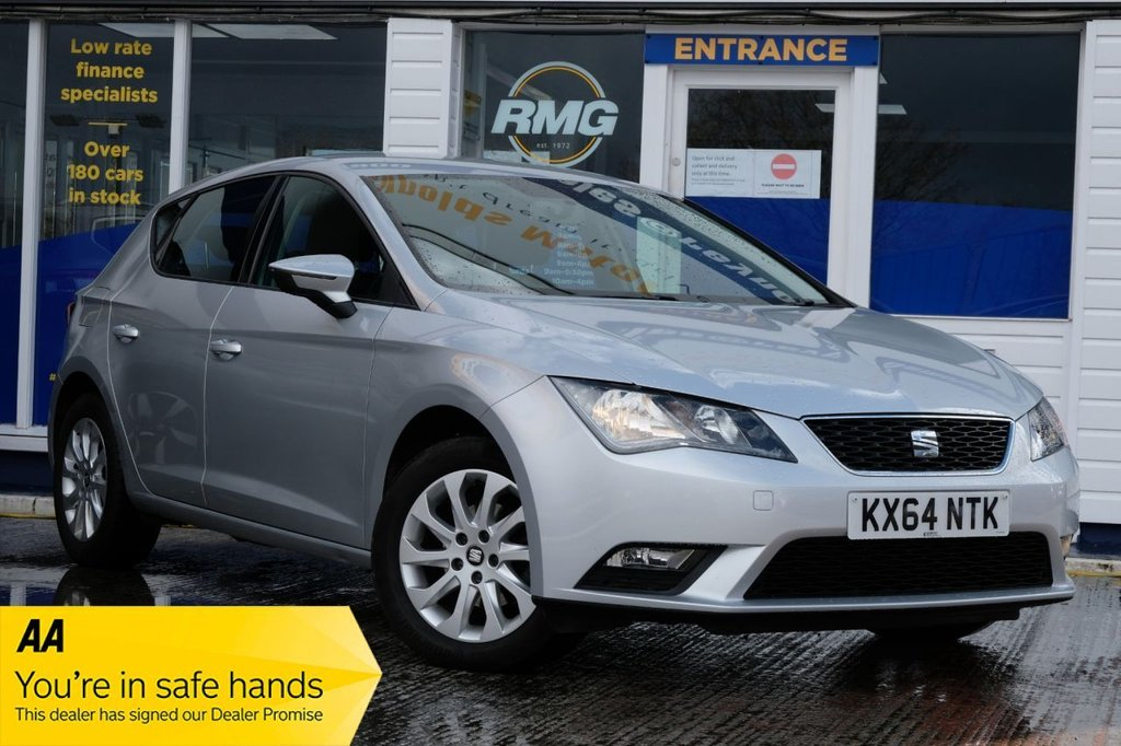 USED 2014 64 SEAT LEON 1.6 TDI SE 5d 105 BHP AVAILABLE FOR £125 PER MONTH £0 DEPOSIT