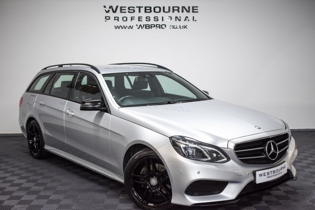 USED 2016 16 MERCEDES-BENZ E-CLASS 2.1 E220 BLUETEC AMG NIGHT EDITION 5d 174 BHP Click&Collect / Home Delivery