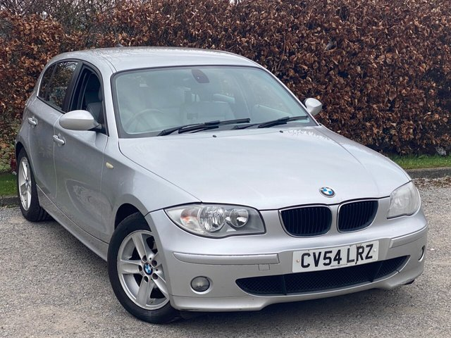 USED 2004 BMW 1 SERIES 120i SE 5dr Step AUTO SERVICE HISTORY, MOT UNTIL MARCH 2022, FULL LEATHER INTERIOR, MULTI FUNCTION STEERING WHEEL