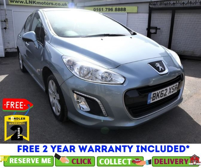 USED 2012 62 PEUGEOT 308 1.6 HDI ACTIVE 5d 92 BHP *CLICK & COLLECT OR DELIVERY