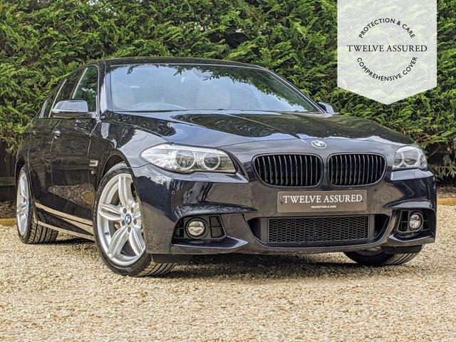 USED 2016 16 BMW 5 SERIES 3.0 530D M SPORT 4d AUTO 255 BHP (SUNROOF & PRO NAV)