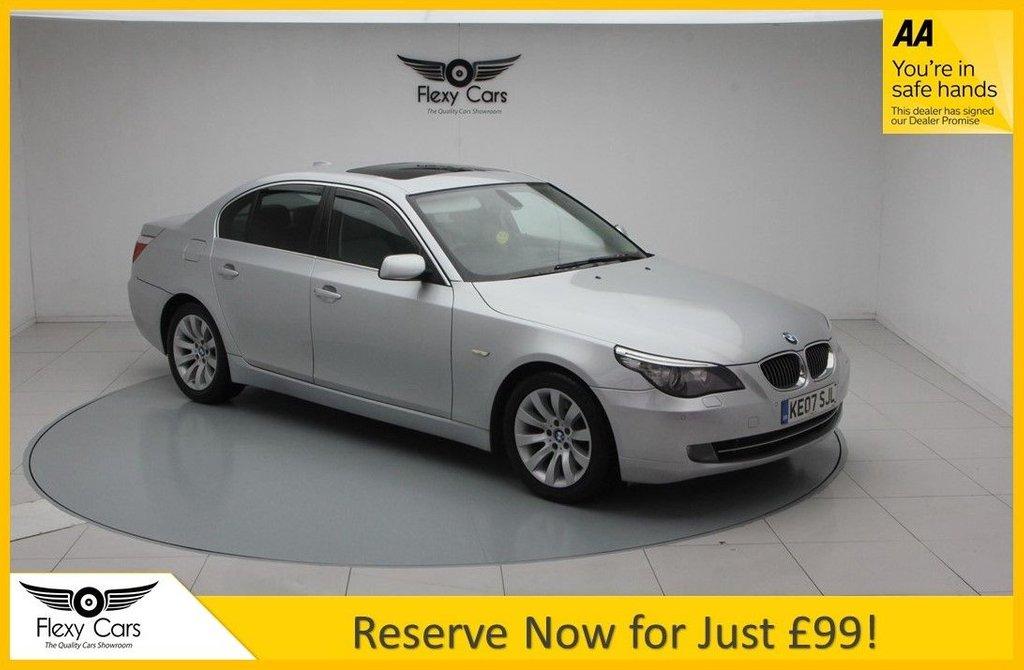 USED 2007 07 BMW 5 SERIES 3.0 530I SE 4d 269 BHP