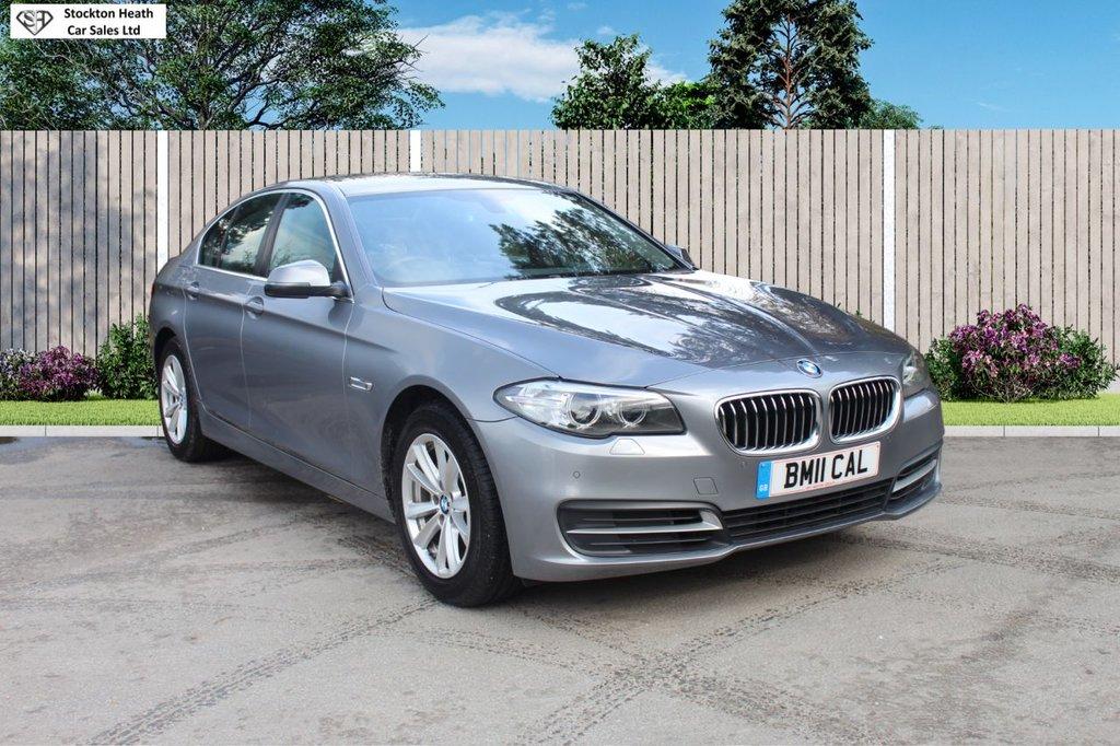 USED 2014 11 BMW 5 SERIES 2.0 518D SE 4d 141 BHP