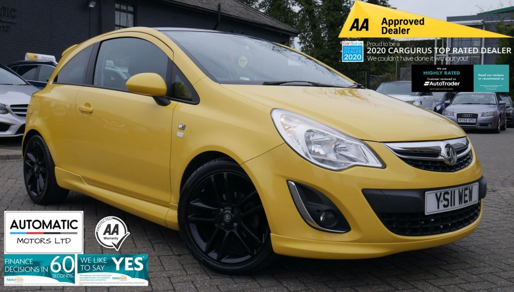 USED 2011 11 VAUXHALL CORSA 1.2 LIMITED EDITION 3d 83 BHP 2011 VAUXHALL CORSA 1.2 LIMITED EDITION 2 KEYS 1 FORMER KEEPER USB