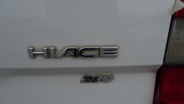 USED 2008 08 TOYOTA HI-ACE 2.5 280 SWB D-4D 95 94 BHP PANEL VAN BULLET PROOF