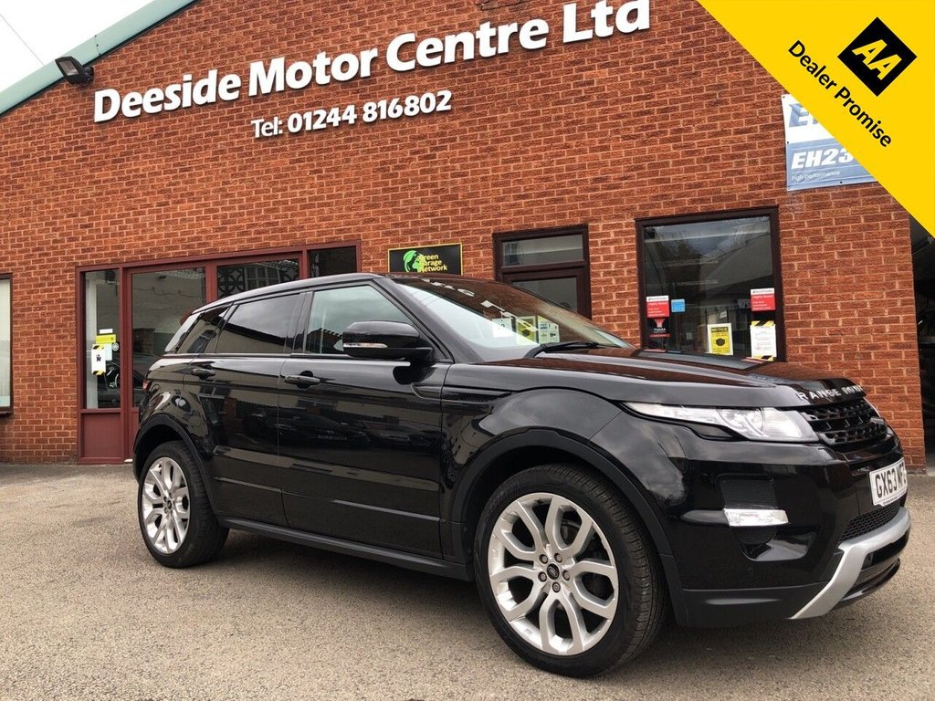 USED 2013 63 LAND ROVER RANGE ROVER EVOQUE 2.2 SD4 DYNAMIC 5d 190 BHP Reverse camera + Panoramic roof