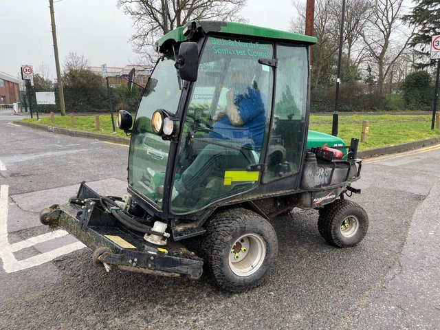 USED 2015 15 RANSOME ALL MODELS HR300 DIESEL 4X4 RIDE ON MOWER (ex council) +ALL IN GOOD WORKING ORDER+