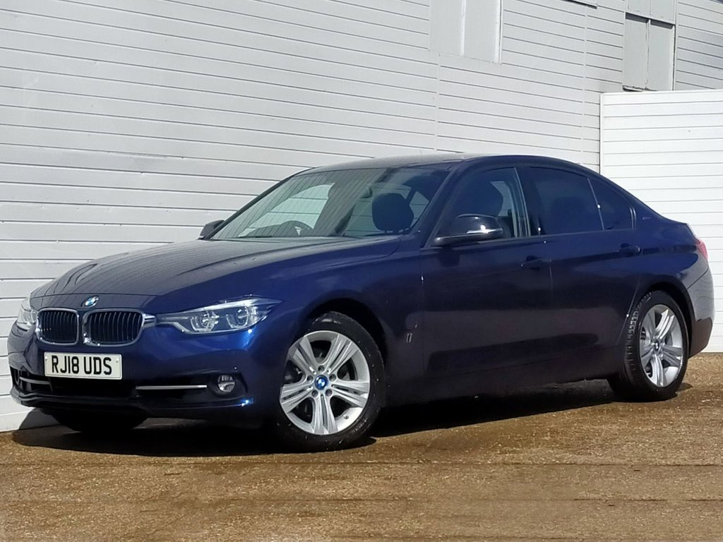 USED 2018 18 BMW 3 SERIES 2.0 330E SPORT 4d 181 BHP Buy Online Moneyback Guarantee