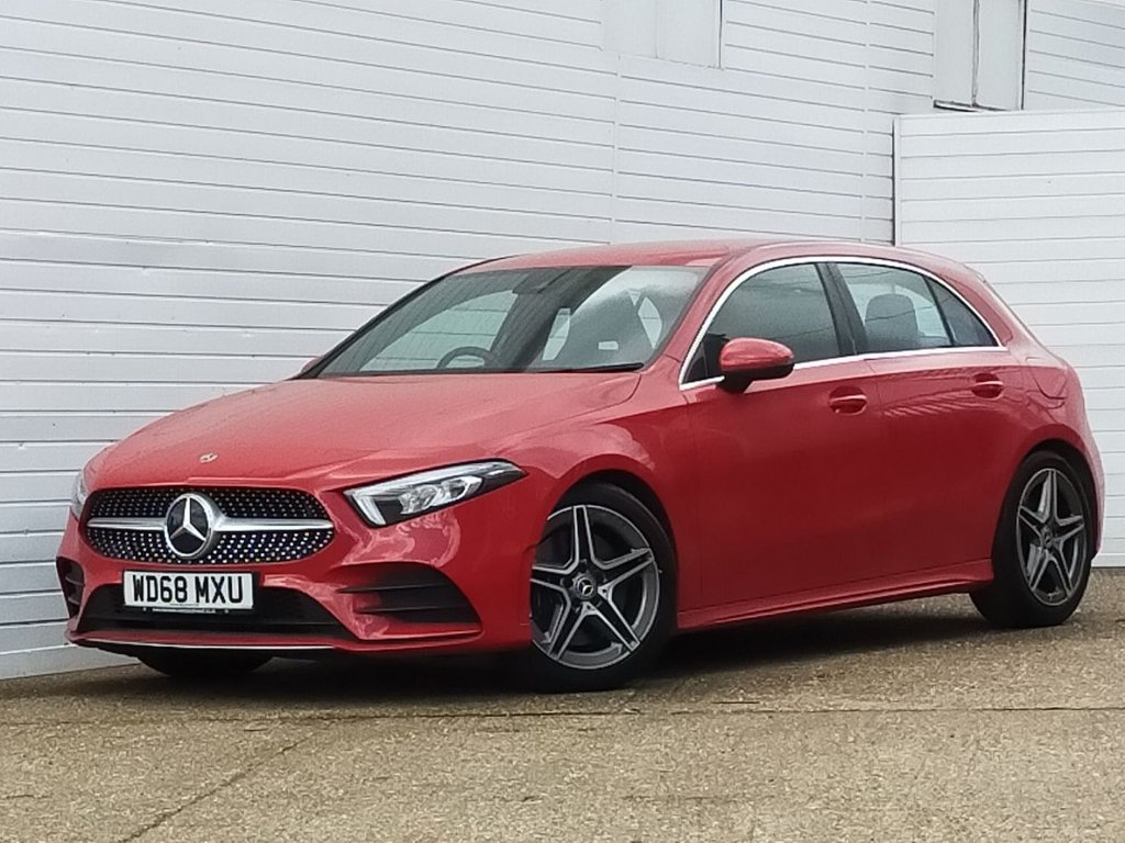 USED 2019 68 MERCEDES-BENZ A-CLASS 2.0 A 250 AMG LINE 5d 222 BHP Buy Online Moneyback Guarantee