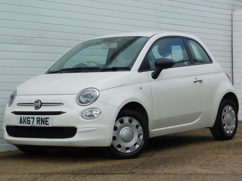 USED 2018 67 FIAT 500 1.2 POP 3d 69 BHP Buy Online Moneyback Guarantee