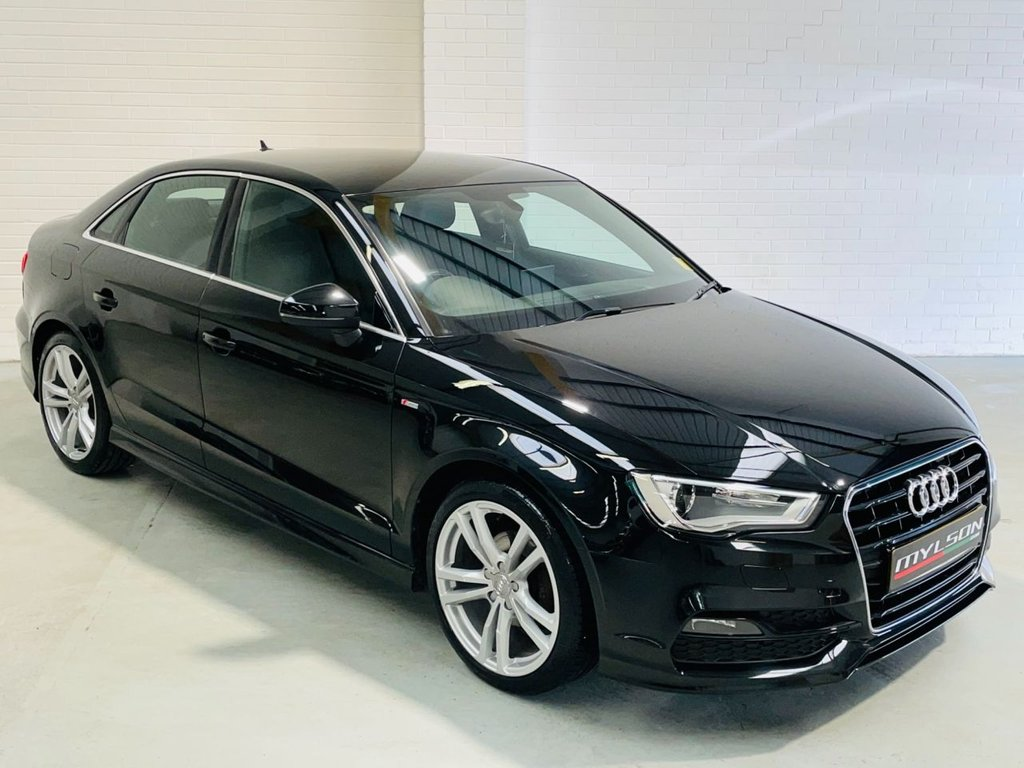 USED 2015 64 AUDI A3 1.4 TFSI S LINE 4d 148 BHP S-Line Leather Interior, Bluetooth Media, 1 Owner From New