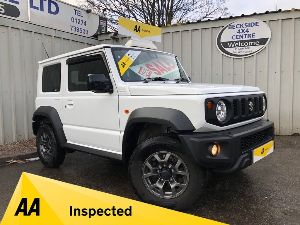 USED 2019 19 SUZUKI JIMNY 1.5 SZ5 5d 101 BHP AA INSPECTED. FINANCE. WARRANTY. HIGH SPEC. LOW MILEAGE.