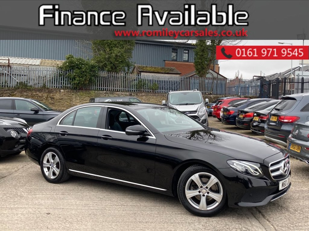 USED 2016 66 MERCEDES-BENZ E-CLASS 2.0 E 220 D SE 4d 192 BHP LOW MILES - STUNINNG EXAMPLE