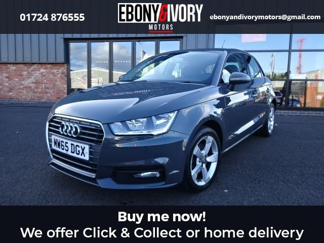 USED 2015 65 AUDI A1 1.6 SPORTBACK TDI SPORT 5d 114 BHP+NANO GRAY FULLY SERVICED+1 YEAR MOT+BREAKDOWN COVER