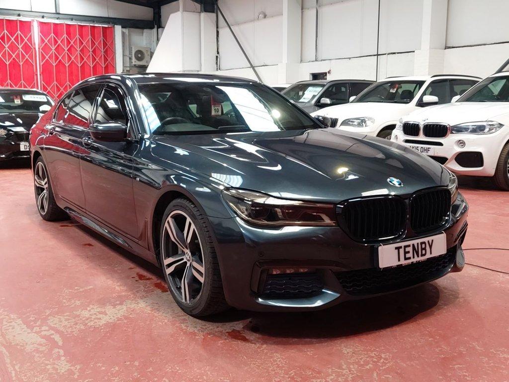 USED 2015 M BMW 7 SERIES 3.0 730LD M SPORT 4d AUTO 261 BHP