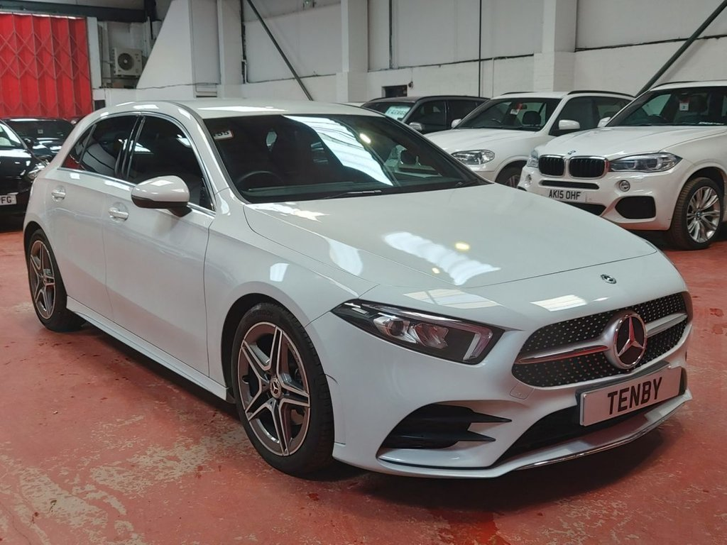 USED 2019 19 MERCEDES-BENZ A-CLASS 1.3 A 180 AMG LINE 5d 135 BHP