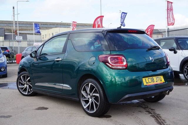 USED 2018 18 DS DS 3 1.2 PURETECH CONNECTED CHIC 3d 80 BHP GREAT EXAMPLE, 18K MILES
