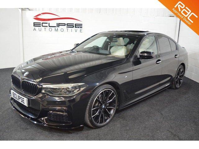 2017 13 BMW 5 SERIES 2.0 520D XDRIVE M SPORT 4d AUTO 188 BHP