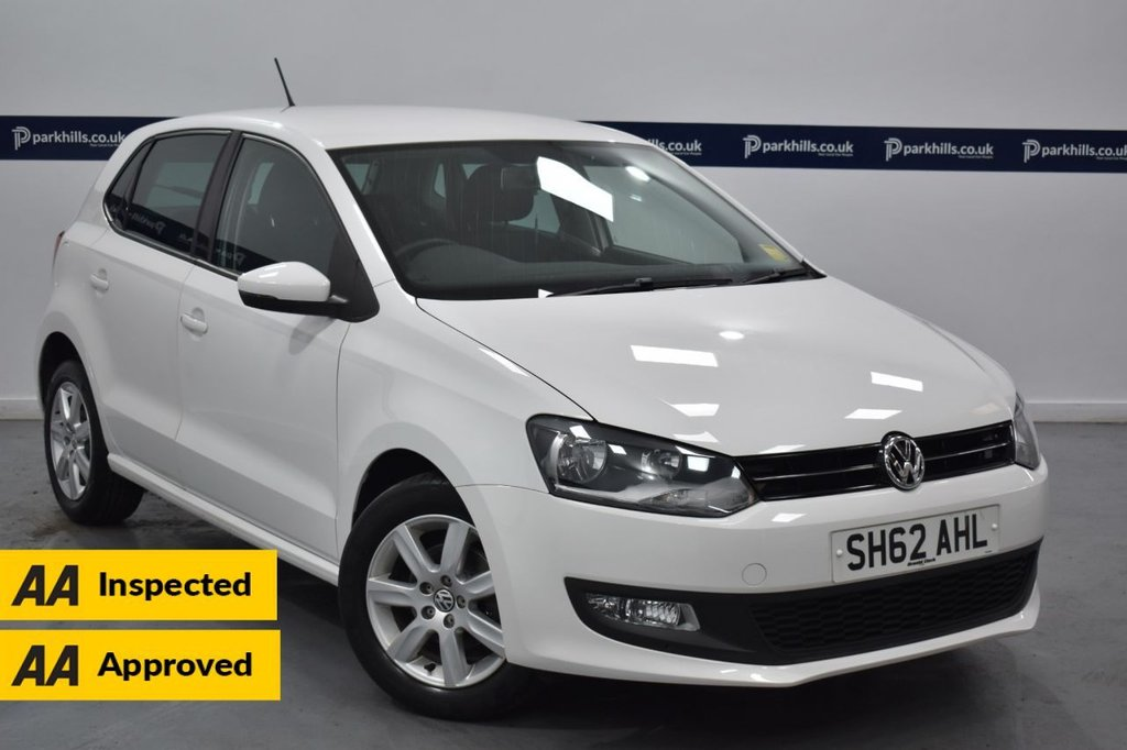 USED 2012 62 VOLKSWAGEN POLO 1.2 MATCH 5d 60 BHP (ONLY 16,000 MILES 4 STAMP SERVICE HISTORY)