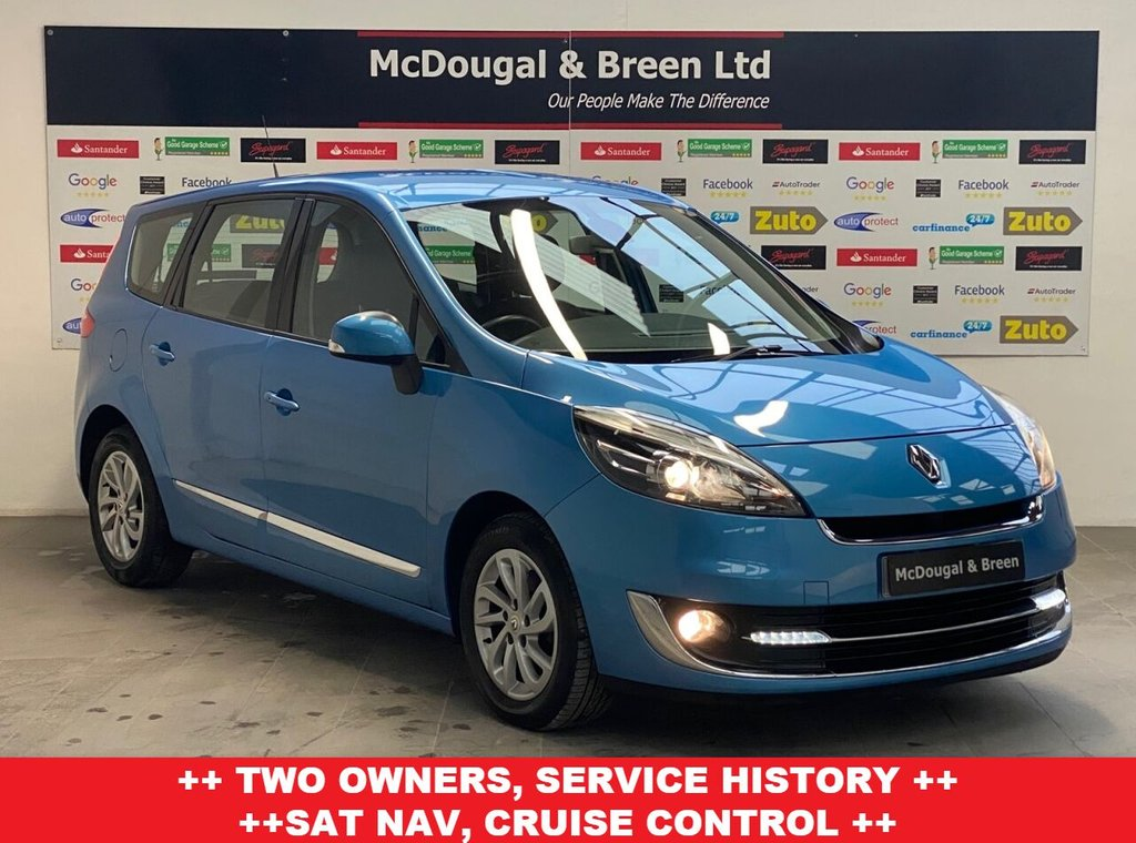 USED 2013 13 RENAULT GRAND SCENIC 1.5L DYNAMIQUE TOMTOM DCI 5d 110 BHP