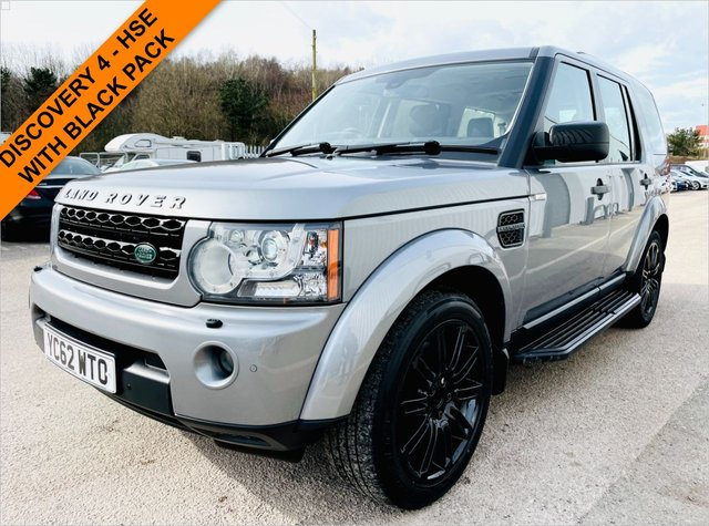 USED 2012 62 LAND ROVER DISCOVERY 3.0 4 SDV6 HSE 5d 255 BHP FUL;L SERVICE HISTORY - TRIPLE SUNROOF - TIMED PARK CLIMATE HEATER - SATELLITE NAVIGATION - REVERSE CAMERA - HEATED FRONT & REAR SEATS