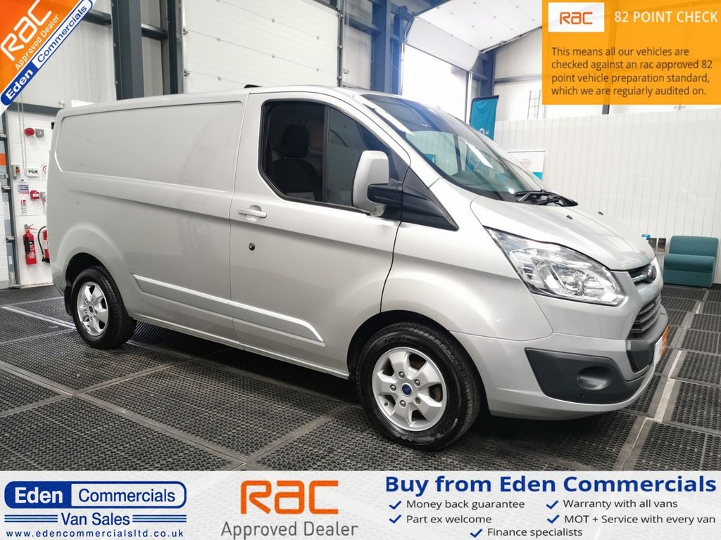 USED 2017 66 FORD TRANSIT CUSTOM 2.0 290 LIMITED LR * HEATED SEATS + AIR CON *