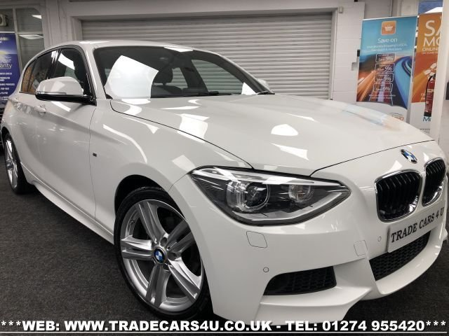 USED 2014 55 BMW 1 SERIES 1.6 116I M SPORT 5d 135 BHP FREE UK DELIVERY*VIDEO AVAILABLE* FINANCE ARRANGED* PART EX*HPI CLEAR