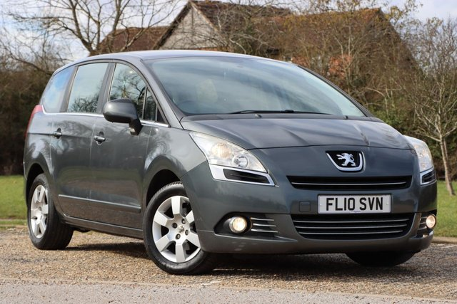 USED 2010 10 PEUGEOT 5008 1.6 HDI SPORT 5d 110 BHP 1yrs MOT LOW miles serviced
