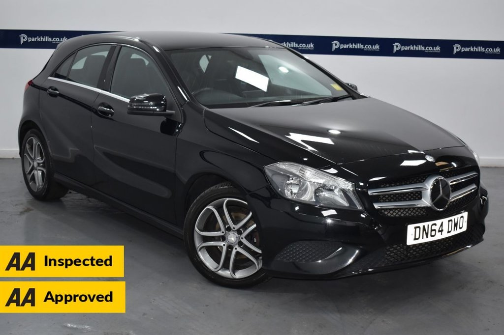 USED 2014 64 MERCEDES-BENZ A-CLASS 1.5 A180 CDI BLUEEFFICIENCY SPORT 5d 110 BHP (FULL SERVICE RECORD)
