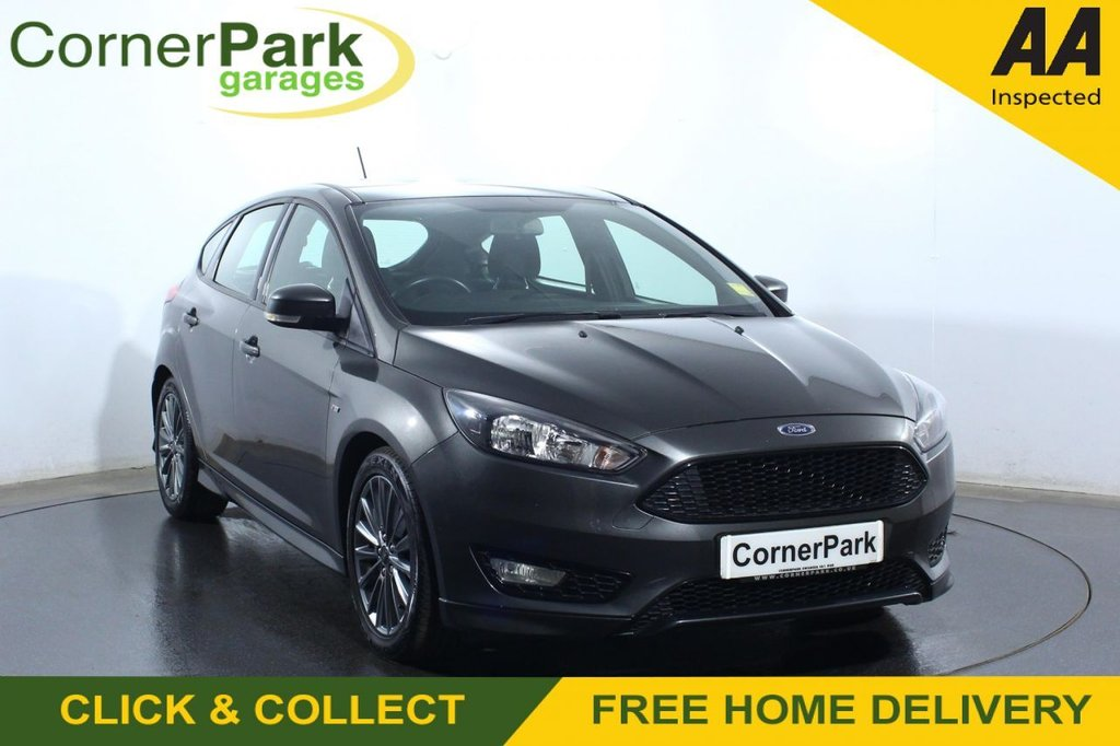 USED 2018 67 FORD FOCUS 1.0 ST-LINE 5d 139 BHP