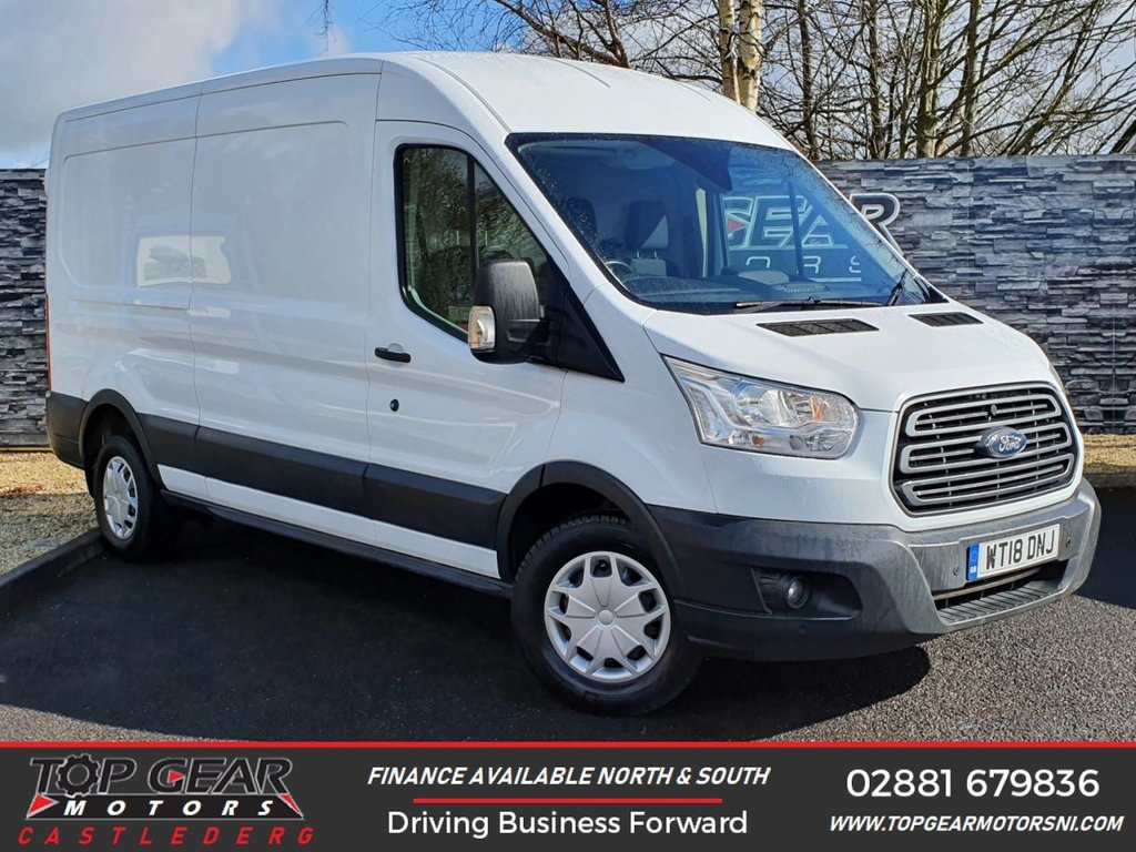 USED 2018 18 FORD TRANSIT 350 2.0 130BHP  L3 H2 TREND  ** A/C, CRUISE CONTROL, PARKING SENSORS ** OVER 90 VANS IN STOCK