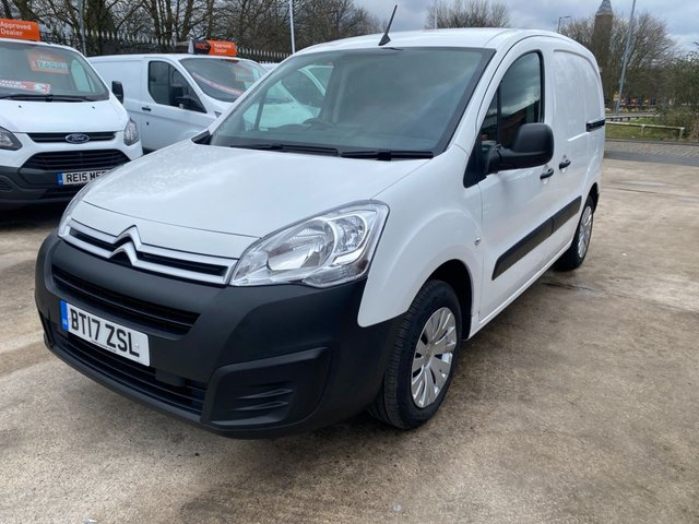 USED 2017 17 CITROEN BERLINGO 1.6 625 ENTERPRISE L1 BLUEHDI 74 BHP 2017 CITROEN BERLINGO ENTERPRISE