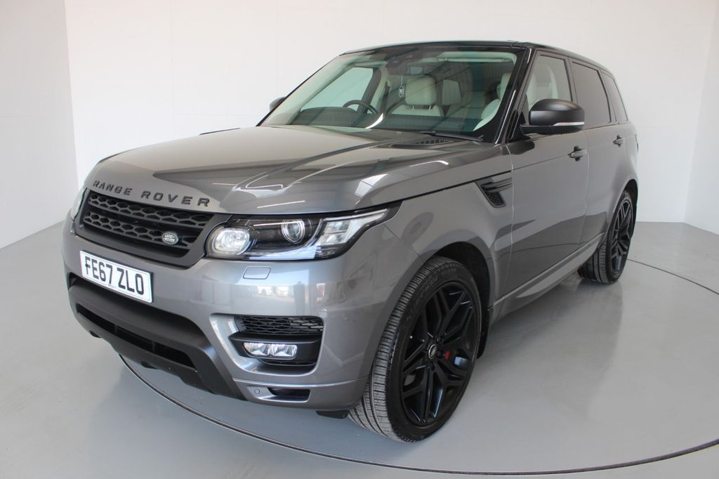 USED 2017 67 LAND ROVER RANGE ROVER SPORT 3.0 SDV6 HSE DYNAMIC 5d AUTO-2 OWNER CAR-STEALTH PACKAGE-22