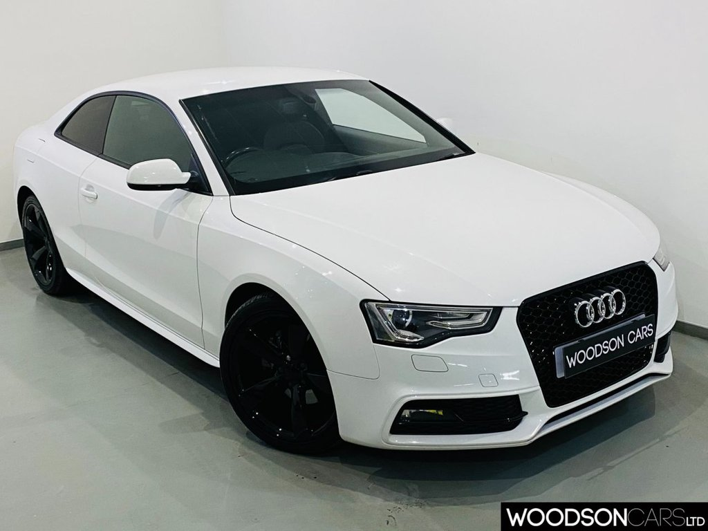 USED 2012 62 AUDI A5 2.0 TDI BLACK EDITION 2d 177 BHP Bluetooth / RS5 Grille / Black Alloys / Privacy Glass / Xenon Lights