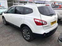 USED 2012 12 NISSAN QASHQAI+2 1.6 TEKNA IS PLUS 2 DCI 5dr 7 Seat Family SUV Great Colour and Excellent Value for Money 1 Former Keeper