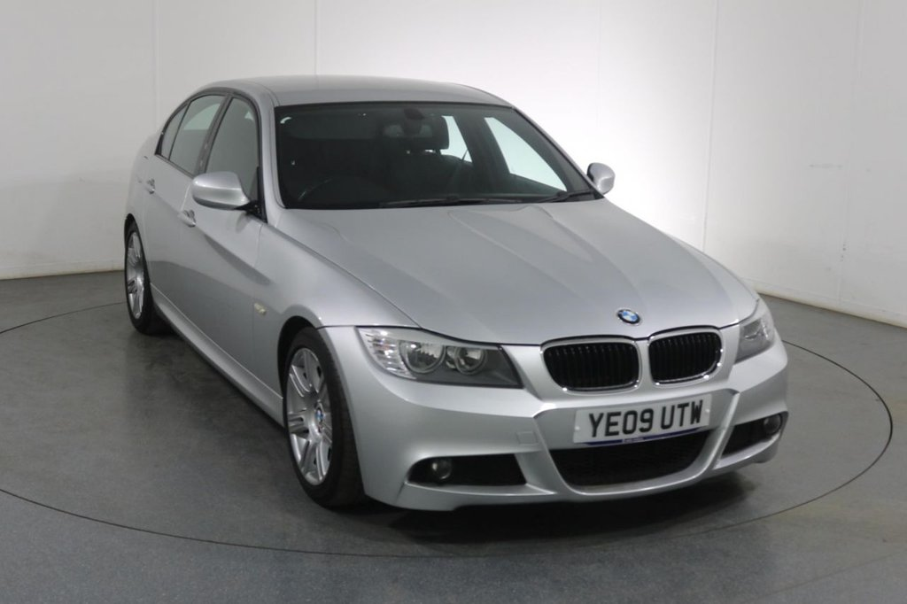 USED 2009 09 BMW 3 SERIES 2.0 318D M SPORT 4d 141 BHP 3 OWNERS with 5 Stamp SERVICE HISTORY