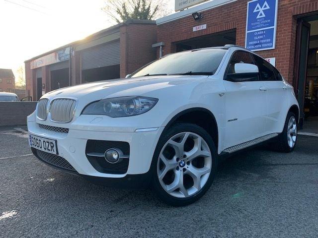 USED 2010 60 BMW X6 3.0 XDRIVE40D 4d 302 BHP