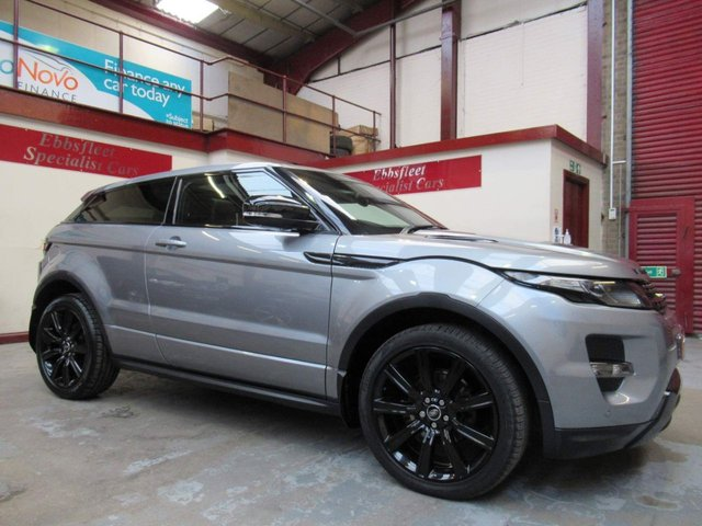 USED 2013 S LAND ROVER RANGE ROVER EVOQUE 2.2 SD4 Dynamic 4X4 3dr ***62000 MILES F/S/H***
