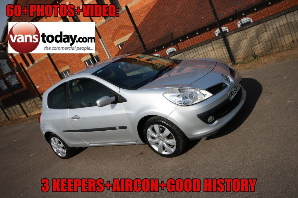 USED 2008 58 RENAULT CLIO 1.1 DYNAMIQUE 16V TURBO 5d 100 BHP 3 KEEPERS + GOOD HISTORY + GREAT SPEC