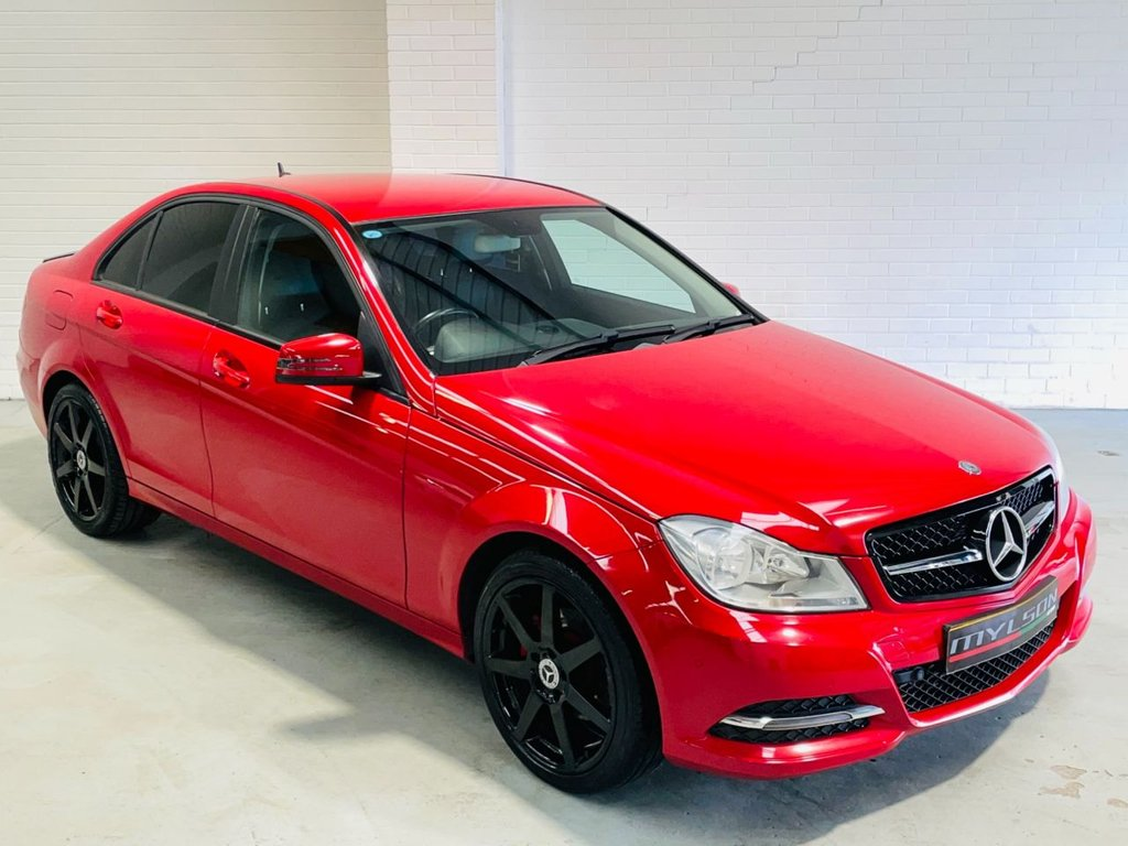 USED 2013 10 MERCEDES-BENZ C-CLASS 2.1 C220 CDI BLUEEFFICIENCY EXECUTIVE SE 4d 168 BHP AMG Wheels, Privacy Glass, Black Styling Details, Bluetooth, £20 Road Tax