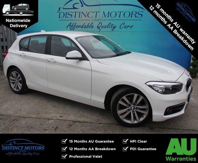 USED 2017 67 BMW 1 SERIES 2.0 118D SPORT 5d 147 BHP