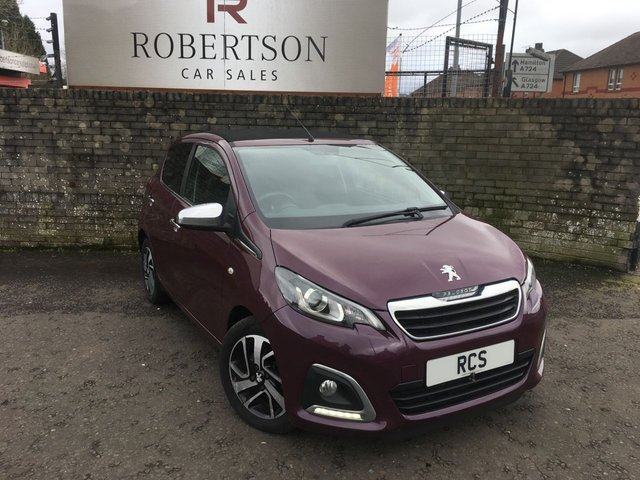 USED 2015 15 PEUGEOT 108 1.2 ALLURE TOP 5dr GREAT LOOKING SMALL ECONOMICAL HATCH