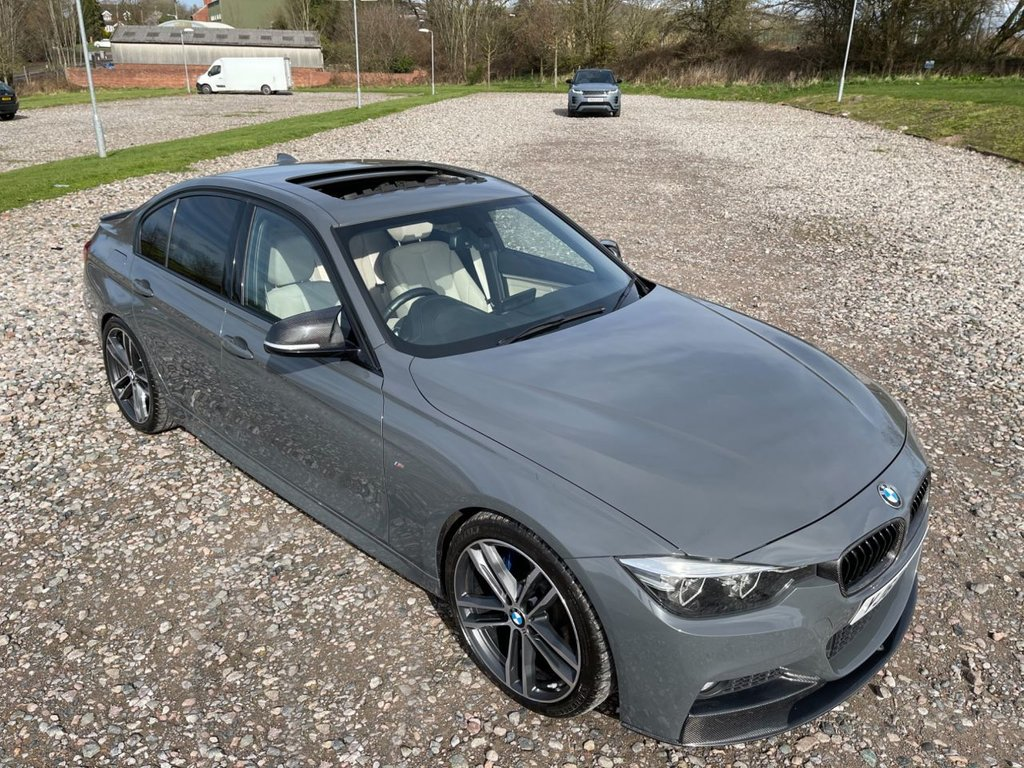 USED 2017 67 BMW 3 SERIES 2.0 320I M SPORT SHADOW EDITION 4d 181 BHP Free Next Day Nationwide Delivery
