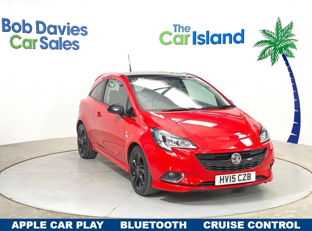 USED 2015 VAUXHALL CORSA 1.4 Limited Edition 3dr Apple Car Play  Cruise Control  Bluetooth Low Insurance