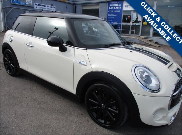 USED 2015 65 MINI HATCH COOPER 2.0 COOPER S 3d 189 BHP STUNNING CONDITION AND DRIVE